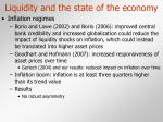 liquidity and the state of the economy21