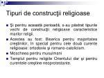 tipuri de construc ii religioase
