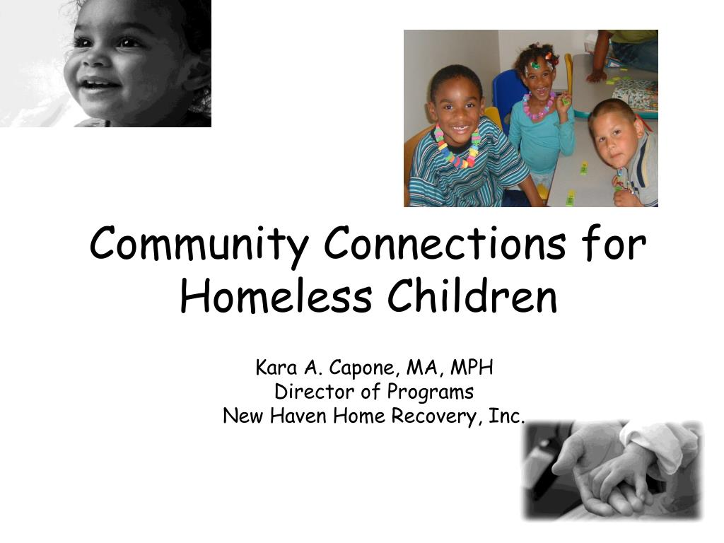 community connections for homeless children l.
