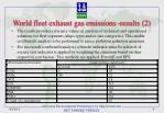 world fleet exhaust gas emissions results 2
