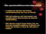 site garotasadolescentes hpg com br