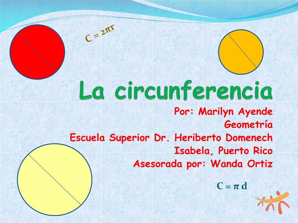 la circunferencia l.