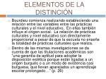 elementos de la distinci n18