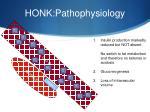 honk pathophysiology