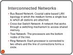 interconnected networks60