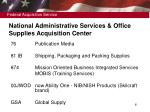 national administrative services office supplies acquisition center6