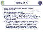 history of jv
