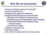 why we are successful