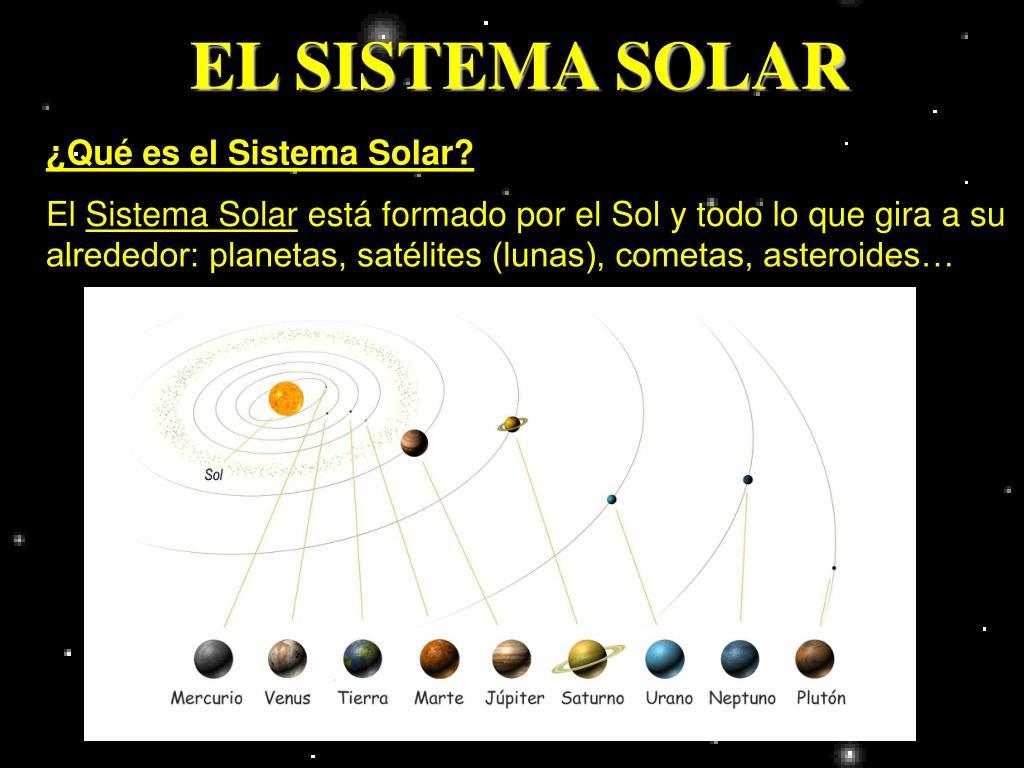 el sistema solar l.