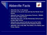 abbeville facts
