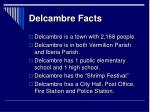 delcambre facts