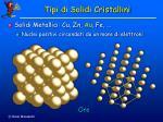 tipi di solidi cristallini9