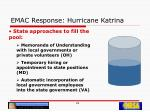 emac response hurricane katrina