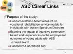 asd career links