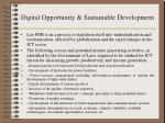 digital opportunity sustainable development