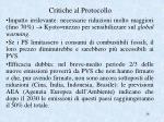 critiche al protocollo