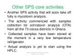other sps core activities