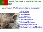 general directorate of veterinary services dgv