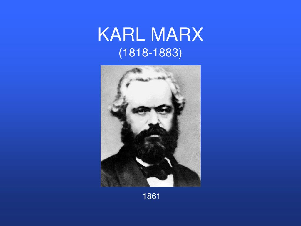 karl marx 1818 1883 l.
