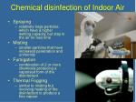 chemical disinfection of indoor air