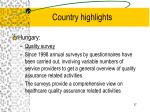 country highlights37