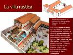 la villa rustica