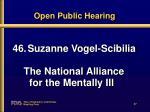 open public hearing37