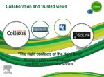 collaboration and trusted views