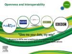 openness and interoperability