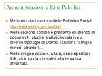 amministrazioni e enti pubblici16