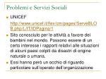 problemi e servizi sociali23