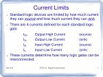 current limits