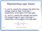 representing logic values5