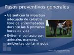 pasos preventivos generales16