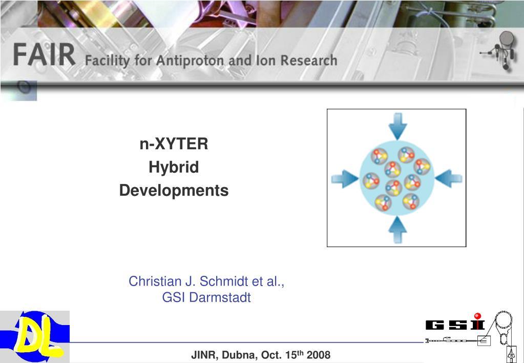 n xyter hybrid developments l.