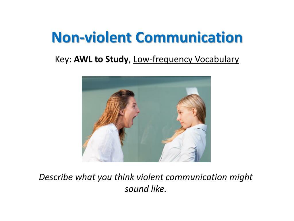 non violent communication l.
