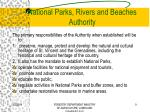 national parks rivers and beaches authority9