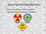 agent symbol identification