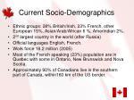 current socio demographics6