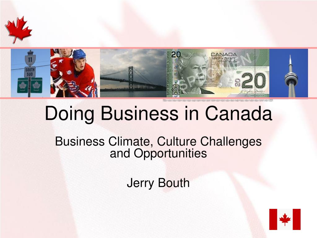 doing business in canada l.