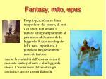 fantasy mito epos