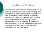 brushless dc excitation