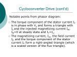 cycloconverter drive cont d57