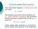 cycloconverter drive cont d59