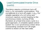 load commutated inverter drive cont d36
