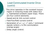 load commutated inverter drive cont d38
