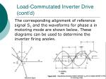 load commutated inverter drive cont d46