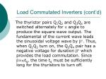 load commutated inverters cont d17
