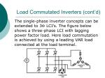 load commutated inverters cont d25