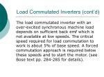 load commutated inverters cont d31